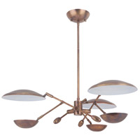 Craftmade 44323-PAB-LED Pavilion LED 30 inch Patina Aged Brass Chandelier Ceiling Light