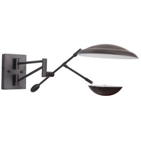 Pavilion LED 10 inch Flat Black Wall Sconce Wall Light