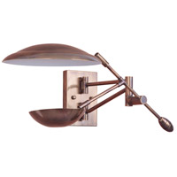 Craftmade 44361-PAB-LED Pavilion LED 10 inch Patina Aged Brass Wall Sconce Wall Light