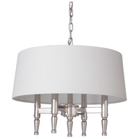Craftmade 44694-PLN Ella 4 Light 18 inch Polished Nickel Pendant Ceiling Light