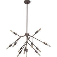 Craftmade 44713-PAB Aspen 13 Light 28 inch Patina Aged Brass Chandelier Ceiling Light