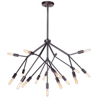 Aspen 17 Light 38 inch Oiled Bronze Chandelier Ceiling Light