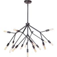 Craftmade 44717-OB Aspen 17 Light 38 inch Oiled Bronze Chandelier Ceiling Light