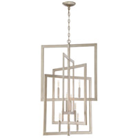 Portrait 8 Light 21 inch Gold Twilight Foyer Light Ceiling Light