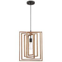 Craftmade 45092-ESP Cube 1 Light 14 inch Espresso Pendant Ceiling Light