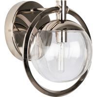 Craftmade 45501-PLN Piltz 1 Light 10 inch Polished Nickel Vanity Light Wall Light