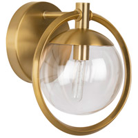 Craftmade 45501-SB Piltz 1 Light 10 inch Satin Brass Vanity Light Wall Light