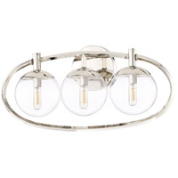 Craftmade 45503-PLN Piltz 3 Light 23 inch Polished Nickel Vanity Light Wall Light