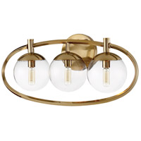 Craftmade 45503-SB Piltz 3 Light 23 inch Satin Brass Vanity Light Wall Light