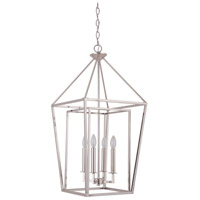 Craftmade 45835-PLN Hudson 4 Light 16 inch Polished Nickel Foyer Light Ceiling Light, Large