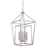 Craftmade 45836-PLN Hudson 6 Light 19 inch Polished Nickel Foyer Light Ceiling Light