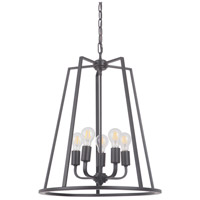 Craftmade 45935-OBG Arc 5 Light 20 inch Oil Bronze Gilded Foyer Light Ceiling Light in Oiled Bronze Gilded