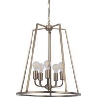 Craftmade 45935-SB Arc 5 Light 20 inch Satin Brass Foyer Light Ceiling Light