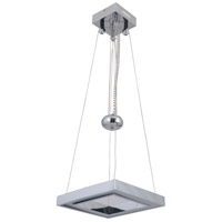 Craftmade 46130-CH-LED Balance LED 13 inch Chrome Adjustable Pendant Ceiling Light Square