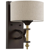 Craftmade 46361-ANGBZ Colonial 1 Light 8 inch Antique Gold and Bronze Wall Sconce Wall Light