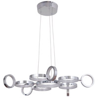 Craftmade 47191-CH-LED Mira LED 28 inch Chrome Adjustable Chandelier Ceiling Light alternative photo thumbnail