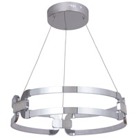 Craftmade 47290-CH-LED Amulet LED 24 inch Chrome Bracelet Pendant Ceiling Light