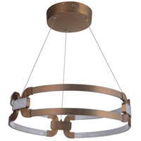 Craftmade 47290-PAB-LED Amulet LED 24 inch Patina Aged Brass Bracelet Pendant Ceiling Light