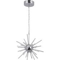 Craftmade 47391-CH-LED Nebula LED 13 inch Chrome Pendant Ceiling Light Starburst