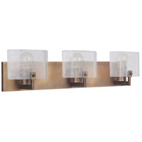 Craftmade 47603-PAB Trouvaille 3 Light 27 inch Patina Aged Brass Vanity Light Wall Light