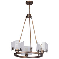 Craftmade 47623-PAB Trouvaille 3 Light 21 inch Patina Aged Brass Chandelier Ceiling Light