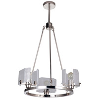Craftmade 47623-PLN Trouvaille 3 Light 21 inch Polished Nickel Chandelier Ceiling Light