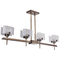 Craftmade 47674-PAB Trouvaille 4 Light 46 inch Patina Aged Brass Island Light Ceiling Light