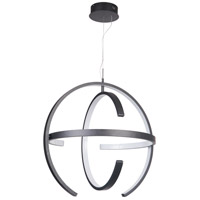Craftmade 47890-MBK-LED Dolby LED 32 inch Matte Black Pendant Ceiling Light