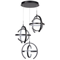 Craftmade 47893-MBK-LED Dolby LED 30 inch Matte Black Pendant Ceiling Light