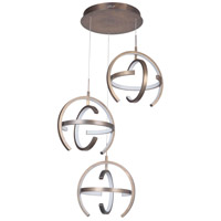 Craftmade 47893-PAB-LED Dolby LED 30 inch Patina Aged Brass Pendant Ceiling Light