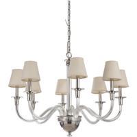 Craftmade 48028-PLN Deran 8 Light 34 inch Polished Nickel Chandelier Ceiling Light Gallery Collection