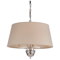 Craftmade 48094-PLN Deran 4 Light 25 inch Polished Nickel Pendant Ceiling Light, Gallery Collection