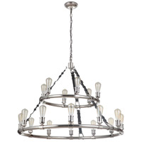 Craftmade 48118-PLN Huxley 18 Light 44 inch Polished Nickel Chandelier Ceiling Light