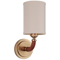 Huxley 1 Light 5 inch Vintage Brass Wall Sconce Wall Light, Gallery Collection
