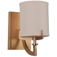 Brass Fabric Wall Sconces
