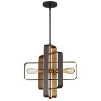 Craftmade 48592-ABZ Linked 2 Light 18 inch Aged Bronze Brushed Pendant Ceiling Light