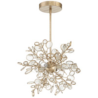 Craftmade 48794-GT Sigrid 4 Light 13 inch Gold Twilight Pendant Ceiling Light