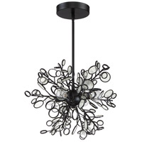 Craftmade 48794-MBK Sigrid 4 Light 13 inch Matte Black Pendant Ceiling Light