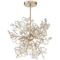 Craftmade 48795-GT Sigrid 4 Light 18 inch Gold Twilight Pendant Ceiling Light
