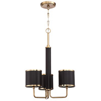 Craftmade 48823-SB Quinn 3 Light 23 inch Satin Brass Chandelier Ceiling Light