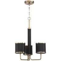 Craftmade 48823-SB Quinn 3 Light 23 inch Satin Brass Chandelier Ceiling Light