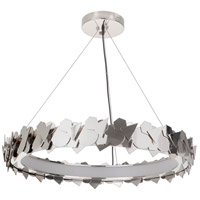 Craftmade 49390-PLN-LED Gallery Bangle LED 31 inch Polished Nickel Pendant Ceiling Light, Gallery Collection