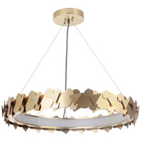 Craftmade 49390-SB-LED Bangle LED 31 inch Satin Brass Pendant Ceiling Light Gallery Collection