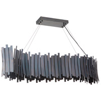 Craftmade 49470-FS-LED Bastion LED 59 inch Fired Steel Linear Island Light Ceiling Light