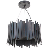 Craftmade 49490-FS-LED Bastion LED 21 inch Fired Steel Pendant Ceiling Light