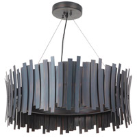 Craftmade 49491-FS-LED Bastion LED 30 inch Fired Steel Pendant Ceiling Light
