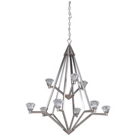 Craftmade 49729-BNK-LED Radiante LED 31 inch Brushed Polished Nickel Chandelier Ceiling Light
