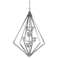 Craftmade 49738-BNK-LED Radiante LED 27 inch Brushed Polished Nickel Foyer Light Ceiling Light