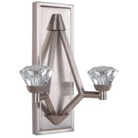 Radiante LED 11 inch Brushed Polished Nickel Wall Sconce Wall Light