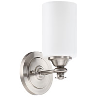 Craftmade 49801-BNK Dardyn 1 Light 6 inch Brushed Polished Nickel Wall Sconce Wall Light